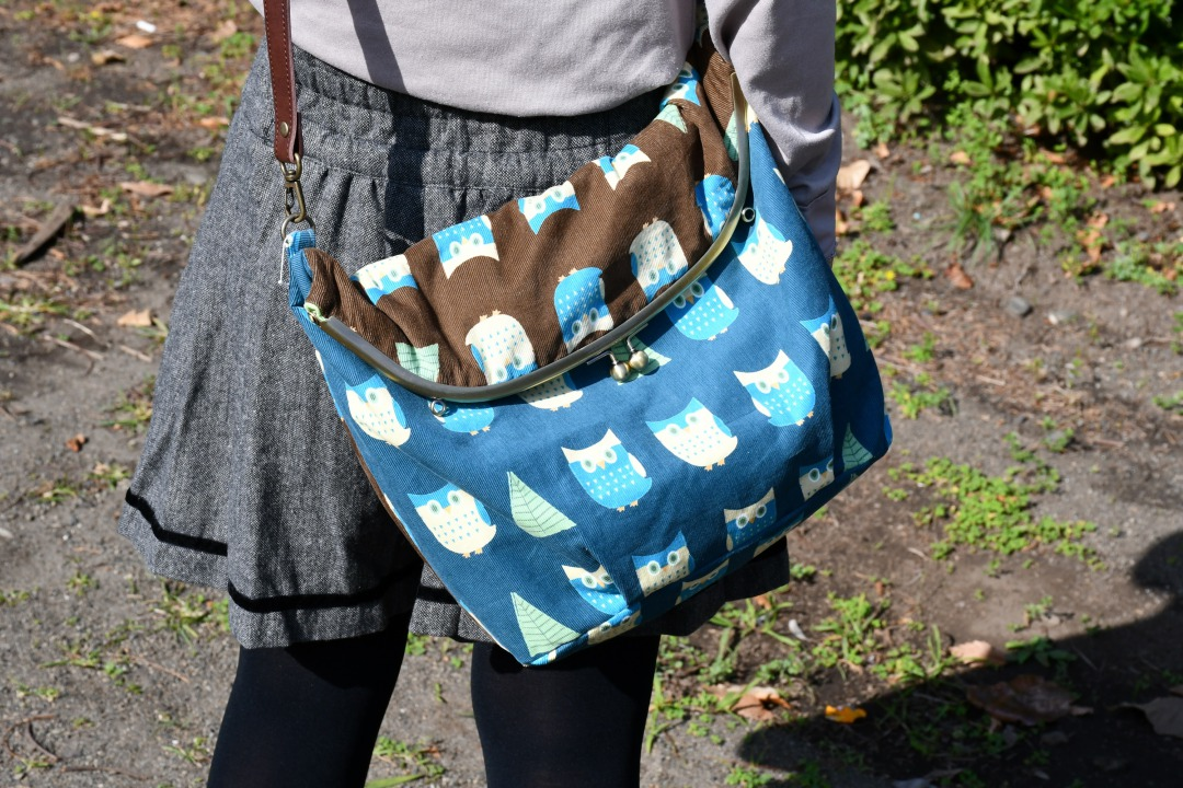 フクロウのバッグ