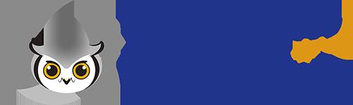 フクロウのロゴマーク