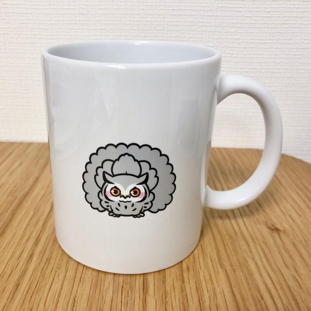 フクロウのマグカップ